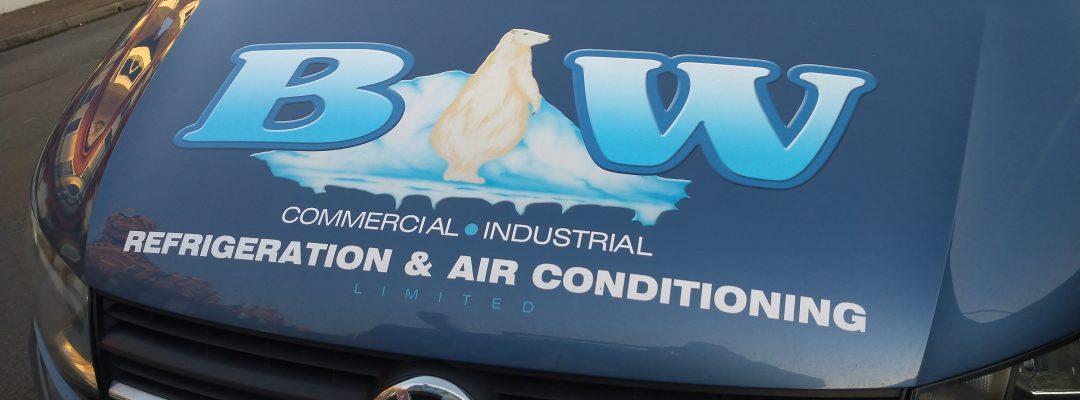Front of BW Van